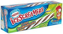 fudge pops fudge itzakadoozie IceScreamers Nutrition info
