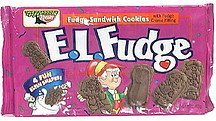 fudge sandwich cookies with fudge creme filling E.L. Fudge Nutrition info