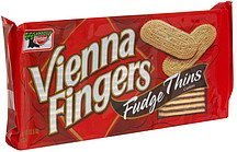 fudge thins cookies Vienna Fingers Nutrition info