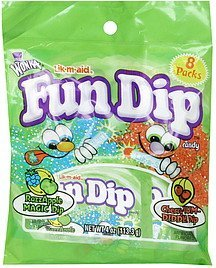 fun dip razzapple magic dip, cherry-yum-diddly dip Lik-m-Aid Nutrition info