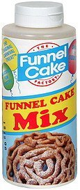 funnel cake mix The Funnel Cake Factory Nutrition info