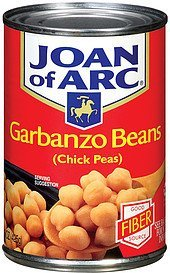 garbanzo beans chick peas Joan of Arc Nutrition info