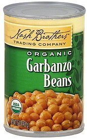 garbanzo beans organic Nash Brothers Trading Company Nutrition info
