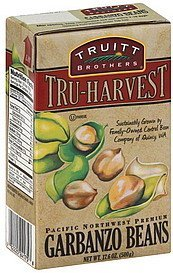 garbanzo beans Truitt Brothers Nutrition info