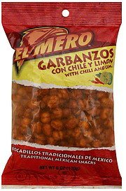 garbanzos with chili and lime El Mero Nutrition info