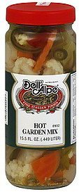 garden mix hot Dell'Alpe Nutrition info