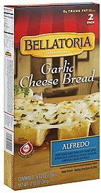 garlic cheese bread alfredo Bellatoria Nutrition info