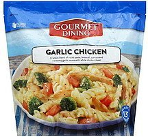 garlic chicken Gourmet Dining Nutrition info