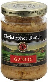 garlic chopped Christopher Ranch Nutrition info