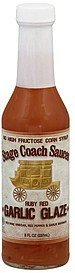 garlic glaze ruby red Stage Coach Sauces Nutrition info
