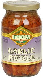 garlic pickle India Select Nutrition info