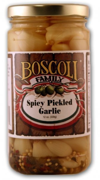 garlic pickled, spicy Boscoli Nutrition info
