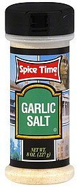 garlic salt Spice Time Nutrition info