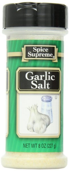 garlic salt Spice Supreme Nutrition info