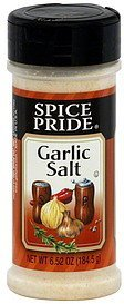 garlic salt Spice Pride Nutrition info