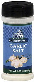 garlic salt Midwest Country Fare Nutrition info