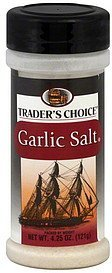 garlic salt Traders Choice Nutrition info