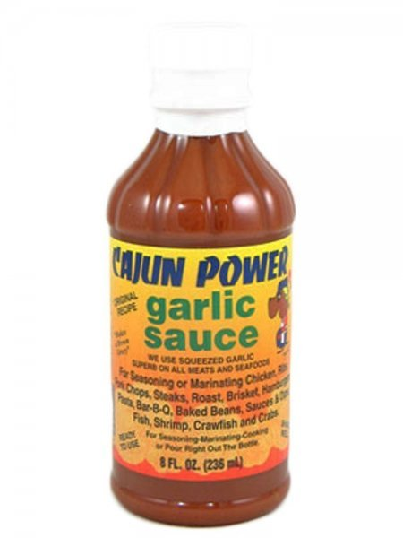 garlic sauce Cajun Power Nutrition info