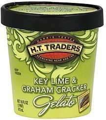 gelato key lime & graham cracker H.T. Traders Nutrition info