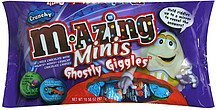 ghostly giggles minis, crunchy M-Azing Nutrition info