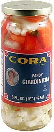 giardiniera fancy Cora Nutrition info