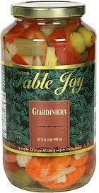 giardiniera Table Joy Nutrition info
