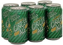 ginger ale less sweet Cotton Club Nutrition info