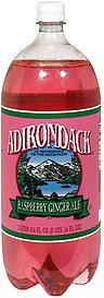 ginger ale raspberry Adirondack Nutrition info
