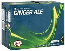 ginger ale Big K Nutrition info