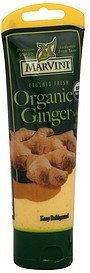 ginger organic Marvini Nutrition info