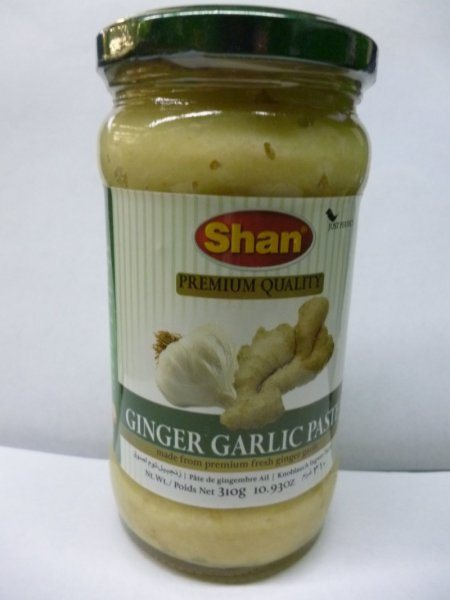 ginger paste Shan Nutrition info