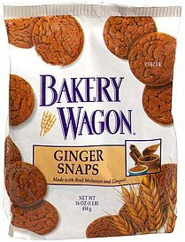 ginger snaps cookies Bakery Wagon Nutrition info
