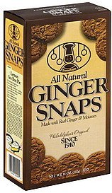 ginger snaps Sweetzels Nutrition info