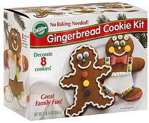 gingerbread cookie kit Wilton Nutrition info