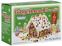 gingerbread house kit Cobblestone Kitchens Nutrition info