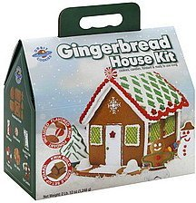 gingerbread house kit Orbit Cookies Nutrition info