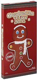 gingerbread man kit jumbo Consup Nutrition info