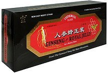 ginseng and royal jelly in a honey base Imperial Elixir Nutrition info