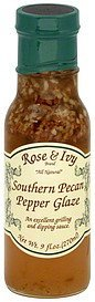glaze southern pecan pepper Rose & Ivy Nutrition info