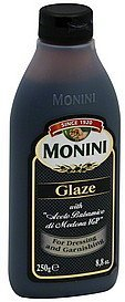 glaze Monini Nutrition info
