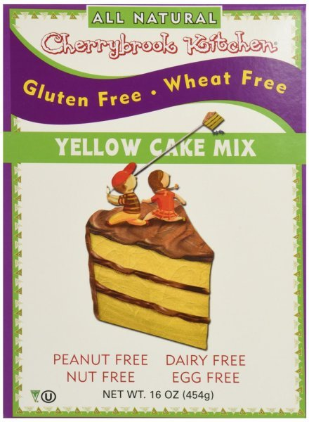 gluten free dreams cake mix yellow Cherrybrook Kitchen Nutrition info