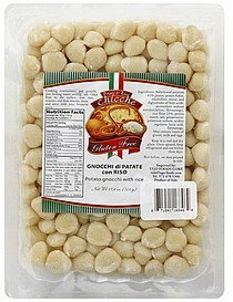 gnocchi potato, with rice Si Nutrition info