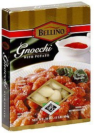 gnocchi with potato Bellino Nutrition info