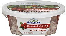 goat cheese crumbled, candied cranberry Montchevre Nutrition info