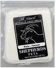 goat cheese feta, plain-natural Shepherds Nutrition info