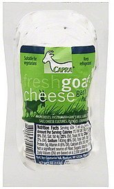 goat cheese fresh, garlic herb Capra Nutrition info