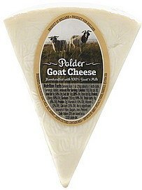 goat cheese Polder Nutrition info