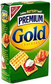 gold crackers Premium Nutrition info