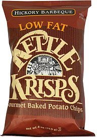 gourmet baked potato chips hickory barbeque Kettle Krisp Nutrition info
