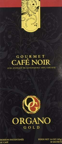 gourmet black coffee Organo Gold Nutrition info